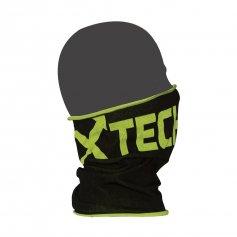 Funkční šátek (Bufka) XT92, -5 / + 15 ° C, černo / žlutá, XTECH