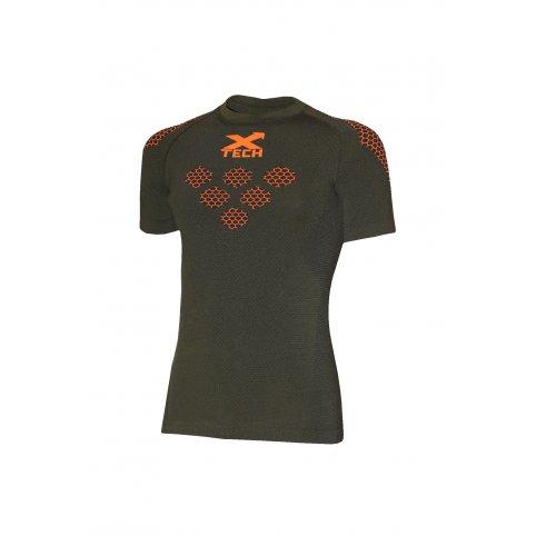 Funkční triko Maglite Exagon, -5 / + 25 ° C, zelené, krátký rukáv, XTECH